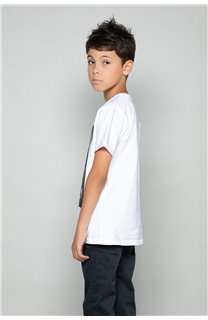 T-Shirt JUST Garçon W18143B (39515) - DEELUXE