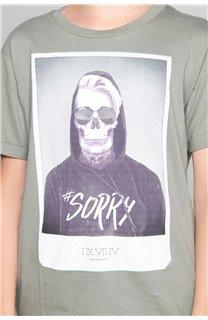 T-Shirt JUST Garçon W18143B (39517) - DEELUXE