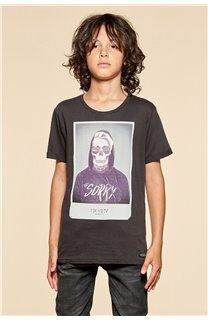 T-Shirt JUST Garçon W18143B (39525) - DEELUXE