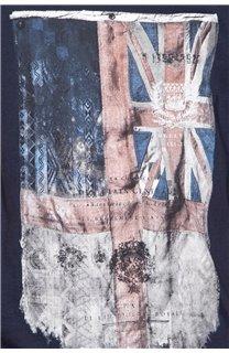 T-Shirt T-SHIRT FLAGY Garçon W18160B (39543) - DEELUXE