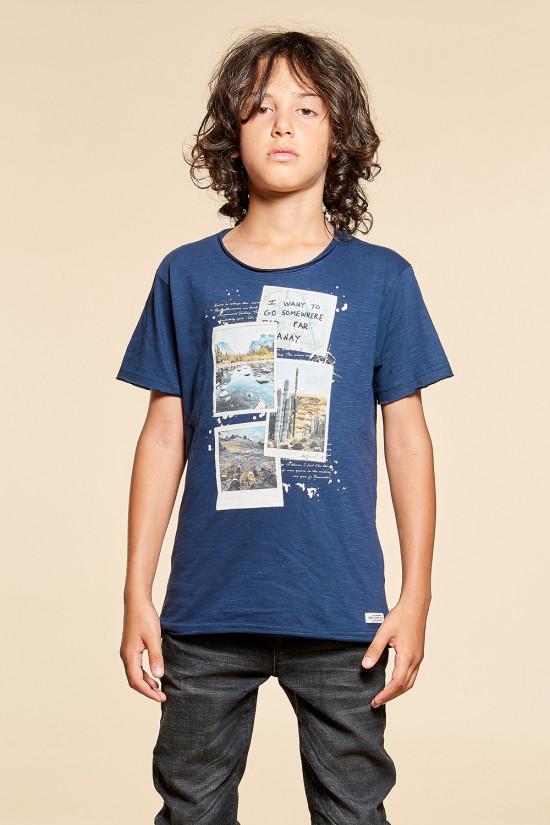 T-shirt EXPLORING Outlet Deeluxe