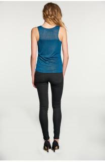 Débardeur T-SHIRT SHINY Femme W18164W (40029) - DEELUXE