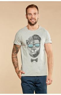 T-shirt LIONMAN Homme Deeluxe