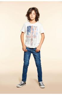 T-Shirt T-SHIRT FLAGY Garçon W18160B (40655) - DEELUXE