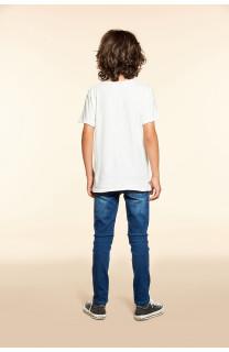 T-Shirt T-SHIRT FLAGY Garçon W18160B (40657) - DEELUXE