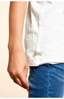 T-Shirt T-SHIRT FLAGY Garçon W18160B (40658) - DEELUXE