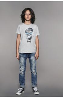 T-Shirt T-Shirt LIONMAN Garçon W18135B (41054) - DEELUXE