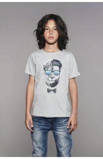 T-Shirt T-Shirt LIONMAN Garçon W18135B (41056) - DEELUXE