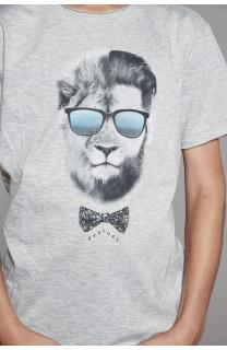 T-Shirt T-Shirt LIONMAN Garçon W18135B (41058) - DEELUXE