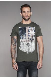 T-Shirt FLAGY Homme W18160 (41137) - DEELUXE
