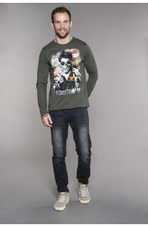 T-Shirt MAVERICK Homme W18198 (41197) - DEELUXE