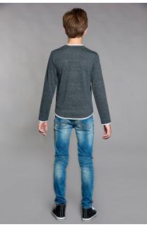 T-Shirt T-SHIRT MOHANSON Garçon W18119B (41223) - DEELUXE