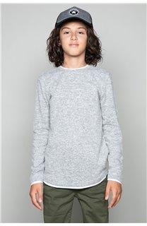 T-Shirt T-SHIRT MOHANSON Garçon W18119B (41224) - DEELUXE