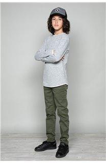 T-Shirt T-SHIRT MOHANSON Garçon W18119B (41226) - DEELUXE