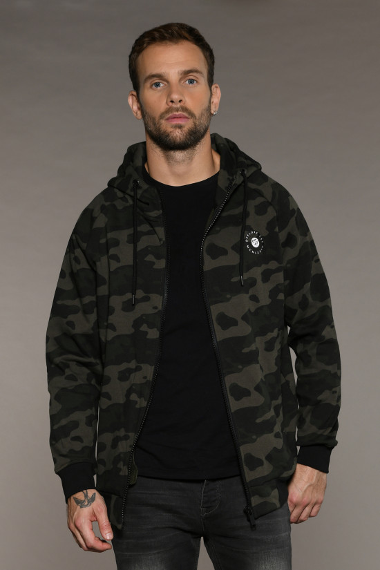 Sweat SWEAT ZIPPÉ TAKER Homme W18502 (41283) - DEELUXE