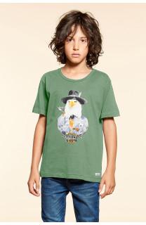 T-Shirt EAGLE Garçon W18140B (41370) - DEELUXE