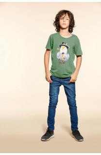 T-Shirt EAGLE Garçon W18140B (41371) - DEELUXE