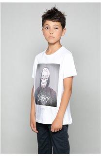 T-Shirt JUST Garçon W18143B (41395) - DEELUXE