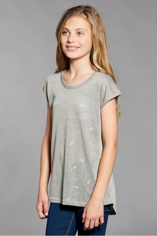 Deeluxe T-shirt PLUME