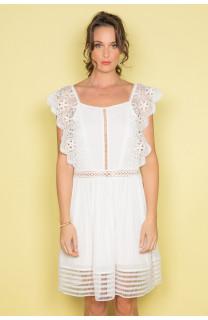 Robe AURORE Femme S19220W (41586) - DEELUXE