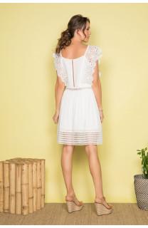 Robe AURORE Femme S19220W (41587) - DEELUXE