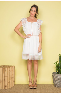 Robe AURORE Femme S19220W (41588) - DEELUXE