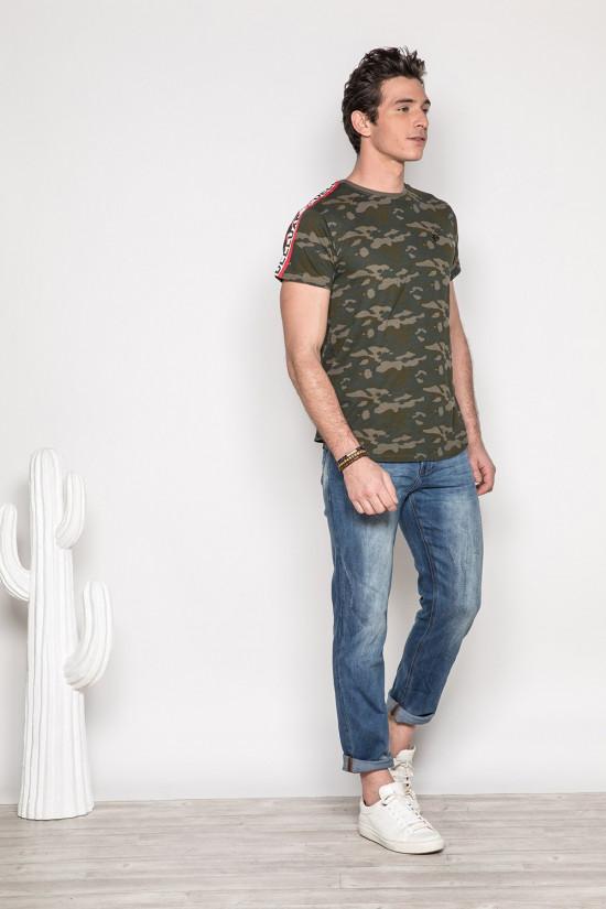 T-Shirt T-SHIRT BANDO Homme S19153 (41688) - DEELUXE