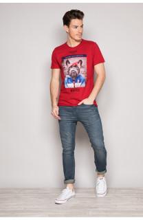 T-Shirt T-SHIRT BANDIDO Homme S19190 (41727) - DEELUXE