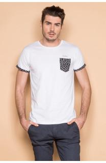 T-Shirt T-SHIRT BAHAMAS Homme S19141 (41736) - DEELUXE