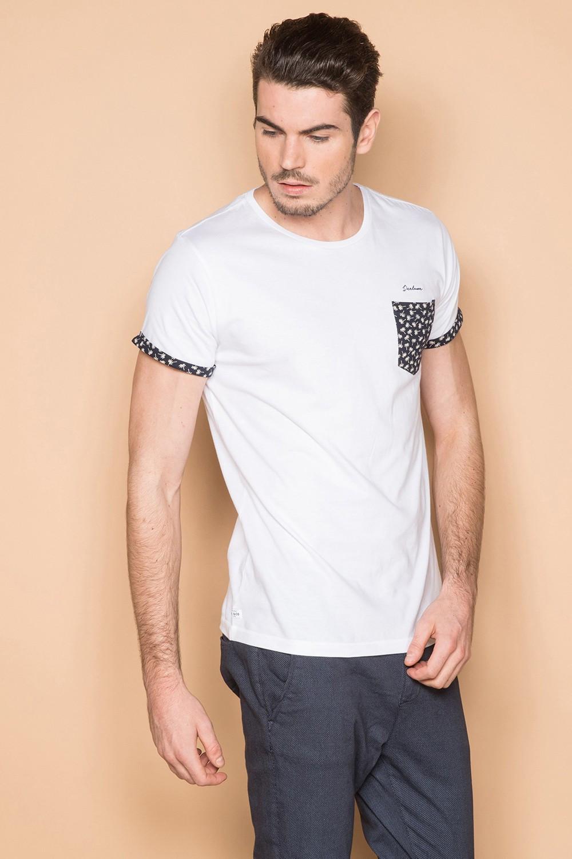 T-Shirt T-SHIRT BAHAMAS Homme S19141 (41737) - DEELUXE