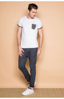 T-Shirt T-SHIRT BAHAMAS Homme S19141 (41738) - DEELUXE
