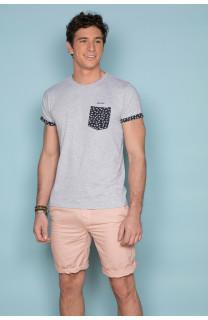 T-Shirt T-SHIRT BAHAMAS Homme S19141 (41742) - DEELUXE
