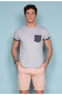 T-Shirt T-SHIRT BAHAMAS Homme S19141 (41743) - DEELUXE
