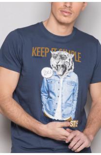 T-Shirt T-SHIRT ROCKY Homme S19162 (41744) - DEELUXE
