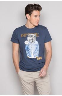 T-Shirt T-SHIRT ROCKY Homme S19162 (41746) - DEELUXE