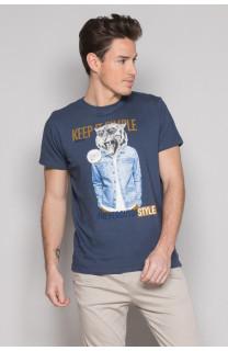 T-Shirt T-SHIRT ROCKY Homme S19162 (41748) - DEELUXE