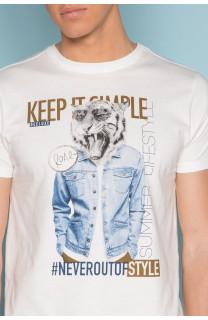 T-Shirt T-SHIRT ROCKY Homme S19162 (41750) - DEELUXE