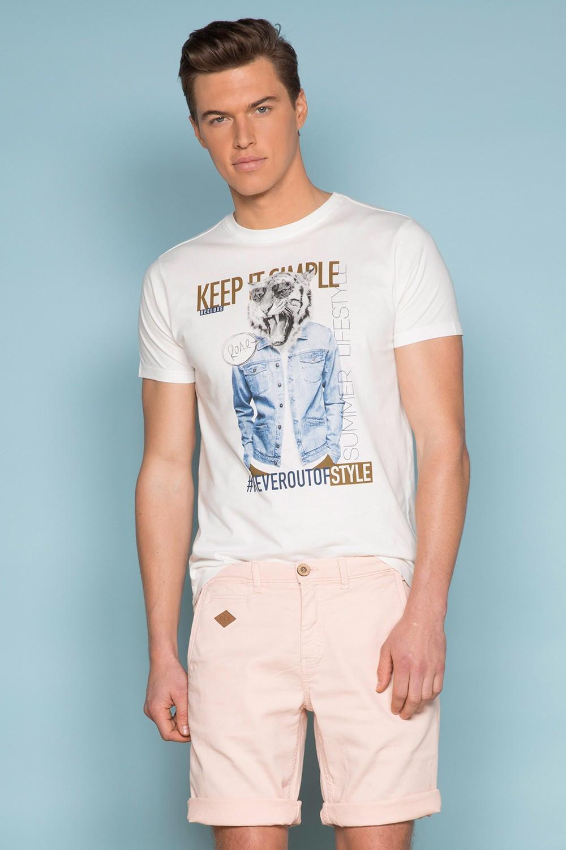 T-Shirt T-SHIRT ROCKY Homme S19162 (41753) - DEELUXE
