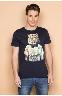 T-Shirt T-SHIRT TIGROU Homme S19144 (41841) - DEELUXE