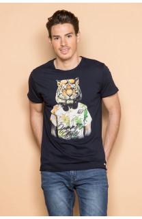 T-shirt TIGROU Homme Deeluxe