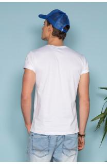 T-Shirt T-SHIRT TELLON Homme S19143 (41865) - DEELUXE