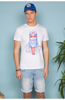 T-Shirt T-SHIRT TELLON Homme S19143 (41866) - DEELUXE