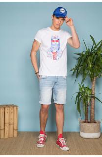 T-Shirt T-SHIRT TELLON Homme S19143 (41867) - DEELUXE