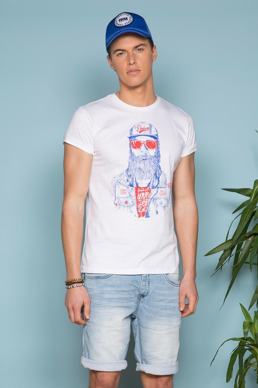T-Shirt T-SHIRT TELLON Homme S19143 (41869) - DEELUXE