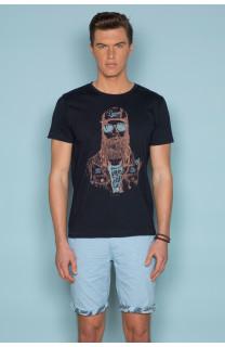 T-Shirt T-SHIRT TELLON Homme S19143 (41871) - DEELUXE