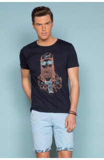 T-Shirt T-SHIRT TELLON Homme S19143 (41872) - DEELUXE