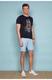 T-Shirt T-SHIRT TELLON Homme S19143 (41873) - DEELUXE