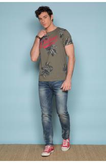 T-Shirt T-SHIRT STUNNING Homme S19139 (41893) - DEELUXE