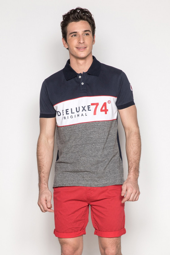 Polo SQUADS Homme Deeluxe
