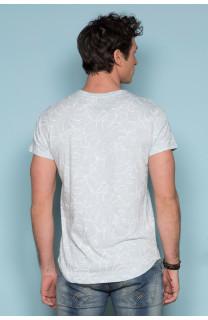 T-Shirt T-SHIRT MONSTERA Homme S19135 (41977) - DEELUXE